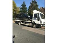 24 HOUR CAR VAN RECOVERY TOWING TRUCK VEHICLE BREAKDOWN JUMPSTART SERVICE FORKLIFT DELIVERY