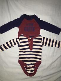 X2 baby boys long sleeve vest