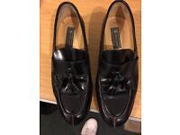 Men's Charles Jordan handmade lofers - black