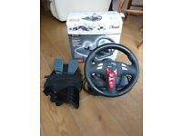 Trust 3400 Vibration Feedback Steering Wheel - win 7