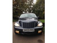 PRICED TO SELL: 2003 Chrysler PT Cruiser 2.0 Petrol. Great service history, MOT to Sep 2017. BARGAIN