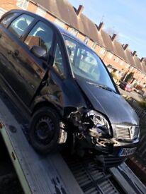 2004 Vauxhall Meriva 1.6 petrol for sale