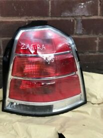 Vauxhall Zafira 2005-2008 0/5 Drivers Side Rear Light