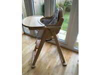 High chair Wood folding