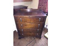 Antique Dresser Table (4 Draw Unit)