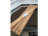Ikea Set 10 Wood Wooden Bed Slats Pine Spruce Timber 80x6.5x1.8 cm(31.5inch length)