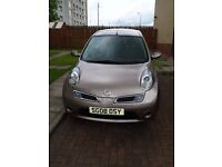 Automatic Nissan Micra Acenta Plus, with very low- 17k miles