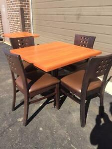 Used Restaurant Chairs and tables