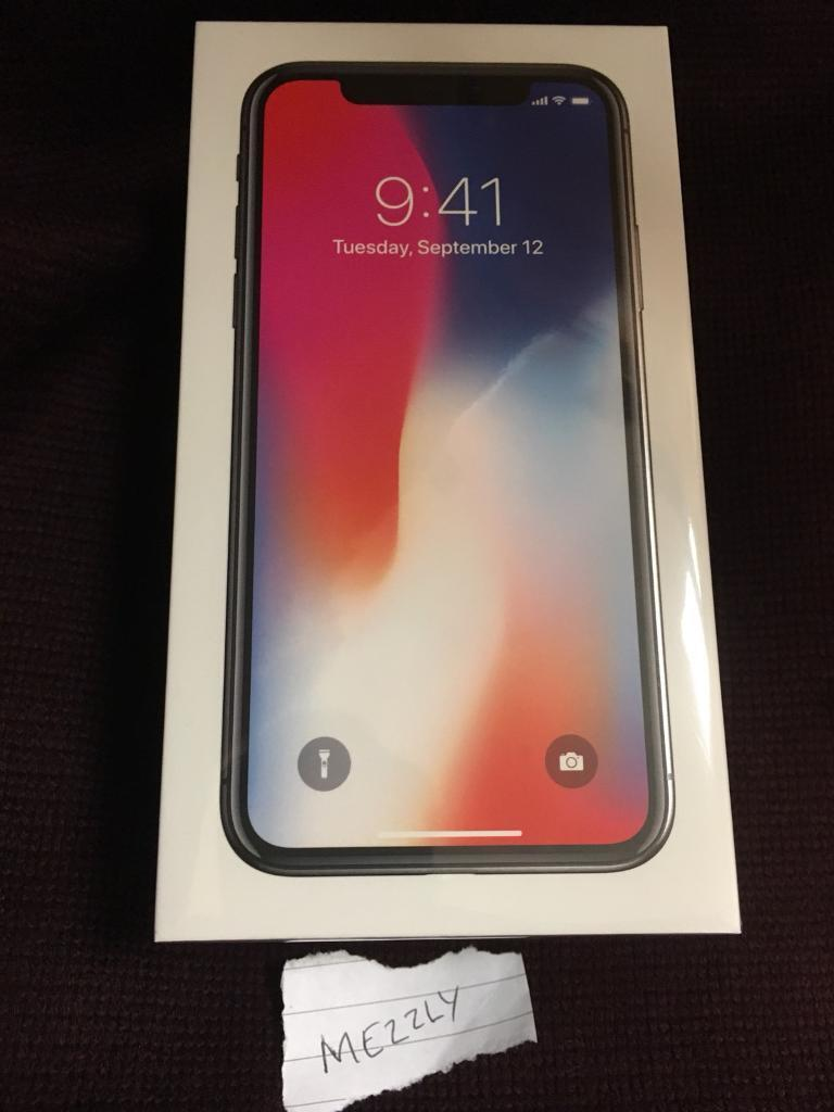 iPhone X - 256 (256gb), space grey, unlocked sealed from Apple