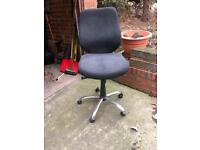 Black office or computer chair. Very high quality.
