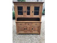 Large French Dresser Unit finished in French Oak 'Substantial Piece' GREAT VALUE £200