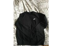 Brand new Nike men's black jumper