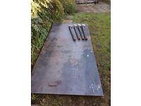 welding table 8 x 4