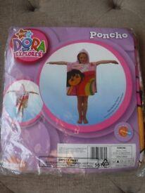 Dora the Explorer hooded towel poncho BRAND NEW