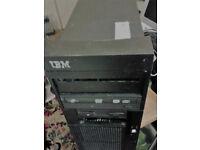 IBM DESKTOP PC (PREVIOUSLY AS IBM SERVER), 3.5GB RAM WINDOWS 7 ULTIMATE SP1.