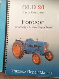 Fordson major books etc