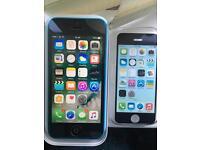 iPhone 5c EE / Virgin 16GB Blue Excellent condition