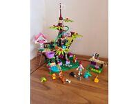 Lego friends jungle treehouse 41059