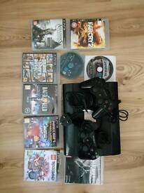 PS3 + GAMES!!!!