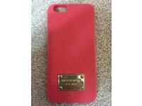 Official Michael Kors Pink iPhone 6 / 6S Mobile Phone Casing - As New Condition!