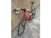 BTwin triban 3 54cm Red Road bike
