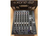 Allen & Heath Xone 62 Mixer With Original Box