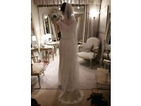 2018 collection! Elegant Designer Slim Fit & Flare Lace Wedding Dress...truly unique