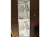 Two xx tickets at 02 apollo Manchester £100 for both