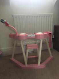 Elc girls pink keyboard