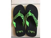 Emporio Armani beach flip flops