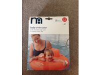 Mothercare Baby Swim Seat. Multi chamber Swim Seat for babies under 11kg. Brand new. Never opened.