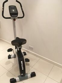 Exercise bike, made by German brand Kettler, model Giro P, complete with programme for training