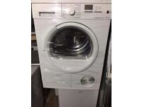 8kg Siemens condenser dryer in good working condition with led display