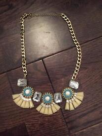 BHS Aztec Inspired Necklace