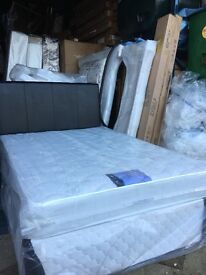 New 4ft small double bed and headboard free delivery