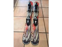 HEAD Big Easy 99 snowblades with ski bindings. Excellent condition. Only worn 1 season, 3 days
