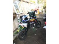 110cc pitbike with extras pit bike want gone today!!