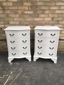 Vintage bedside drawers French Style bedsides cabinets draws cabinets
