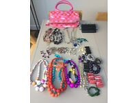 Large bundle of lovely necklaces and bracelets