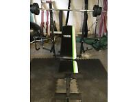 York multi work out weight bench