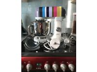 Kenwood kMix Stand Mixer - In Excellent Condition. Used Once, has all accessories & manual