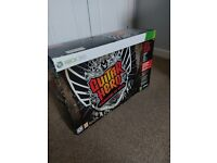 GUITAR HERO FULL BAND SET WITH ORIGINAL PACKAGING FOR XBOX360 !!!!