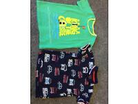 M&S and BlueZoo Boys 4-5 years tshirts