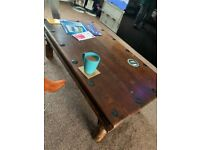 Dining set and coffee table