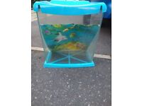 Free small fish tank ideal for kids