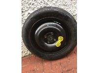 Brand new Michelin and Pirelli space saver tyres 125/80R15. £10 each
