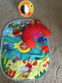Tummy time activity mat!