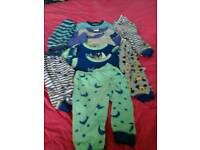 baby boys pjs bundle size 9-12 months