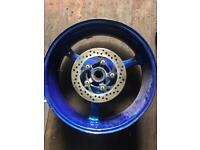 Suzuki gsxr wheel.