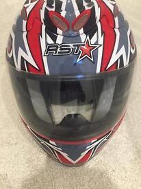 RST motorbike helmet - Large